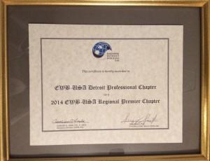 2014 Premier Chapter Award